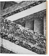 Sanctuary Zig Zag Staircase Wood Print