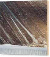 Sand Abstract, Hunder, 2006 Wood Print