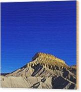 Sand And Rock Wood Print