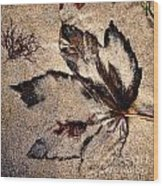 Sand Art Wood Print