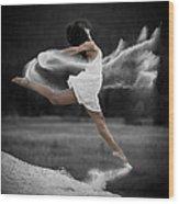 Sand Dance Wood Print