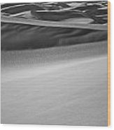 Sand Dunes Abstract Wood Print by Aaron Spong