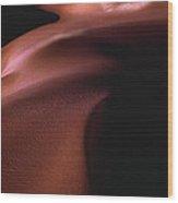 Sand Dunes After Sunset Wood Print