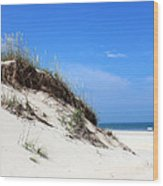 Sand Dunes Of Corolla Outer Banks Obx Wood Print