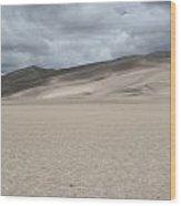 Sand Dunes Park Wood Print