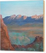 Sand Hollow Panorama Wood Print