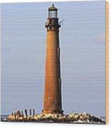 Sand Island Lighthouse - Alabama Wood Print