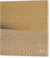 Sand Layers Wood Print