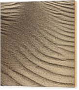 Sand Pattern Abstract - 3 Wood Print