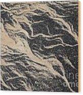 Sand Patterns Wood Print