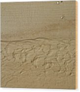Sand Patterns Wood Print