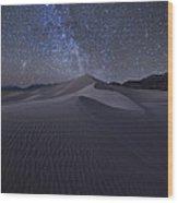 Sandbox Under The Stars Wood Print