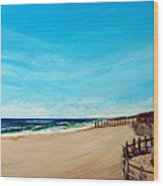 Sandbridge Virginia Beach Wood Print