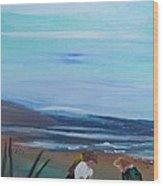 Sandcastle Wood Print