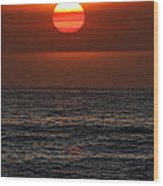 Sandi's Sunset By Diana Sainz Wood Print