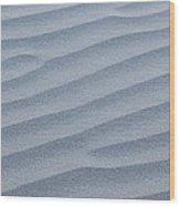 Sands Of Sunrise Wood Print by Tony Santo