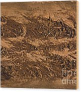 Sands Of Time Wood Print by The Stone Age