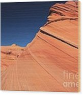 Sandstone Bands Wood Print