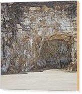Sandstone Cave Wood Print