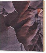 Sandstone Face Wood Print