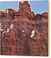 Sandstone Goblin Valley Wood Print