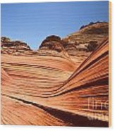 Sandstone Ledge Wood Print