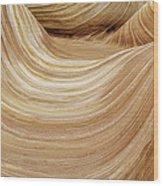 Sandstone Lines Wood Print