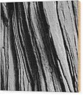 Sandstone Mono Wood Print