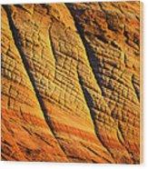 Sandstone Of Time Wood Print