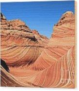 Sandstone Rainbow Wood Print
