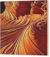 Sandstone Silhouette Wood Print
