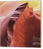 Sandstone Spectacular Wood Print