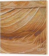 Sandstone Swirls Wood Print