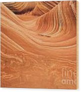 Sandstone Tide Wood Print