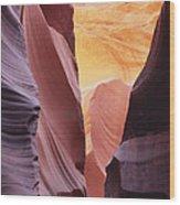 Sandstone Veils Wood Print