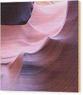Antelope Canyon Sandstone Waves Wood Print