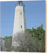 Sandy Hook Lighthouse II Wood Print