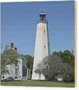 Sandy Hook Lighthouse IIi - N  J Wood Print