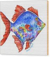Sanford Fish Wood Print