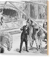 Sanger's Circus, 1884 Wood Print