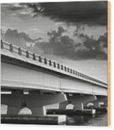 Sanibel Causeway II Wood Print
