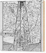 Sanibel Island Light Wood Print