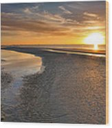 Sanibel Sunrise Xxi Wood Print