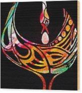 Sankofa Wood Print