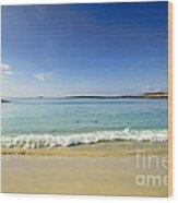 Sanna Bay Ardnamurchan Peninsula Wood Print