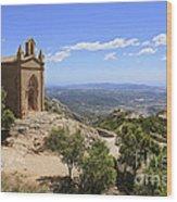 Sant Joan Chapel Spain Wood Print