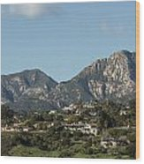 Santa Barbara California Wood Print