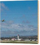 Santa Barbara Takeoff Wood Print