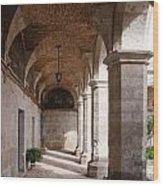 Santa Catalina Monastery In Arequipa Peru Wood Print