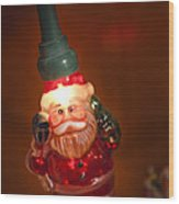 Santa Claus - Antique Ornament - 06 Wood Print